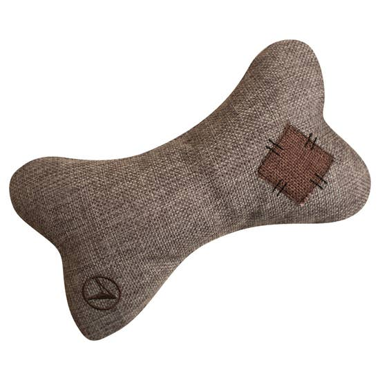 Crinkle Bone Dog Toy