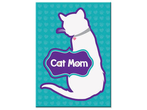 Rectangle Magnet - Cat Mom