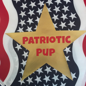 Patriotic Pup-Bandana- Web Exclusive!