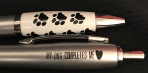 Paw Print Emissary Click Pen