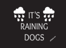 It's Raining Dogs Umbrella