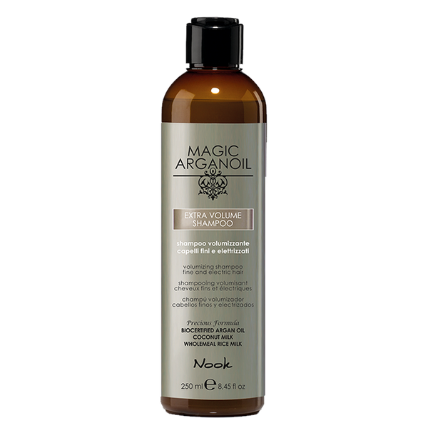 Nook magic arganoil EXTRA VOLUME apimties šampūnas