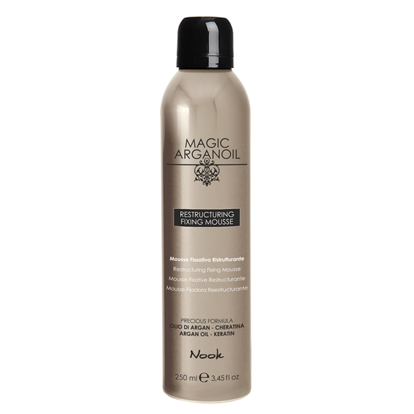 Nook magic arganoil RESTRUCTURING FIXING drėkinančios putos