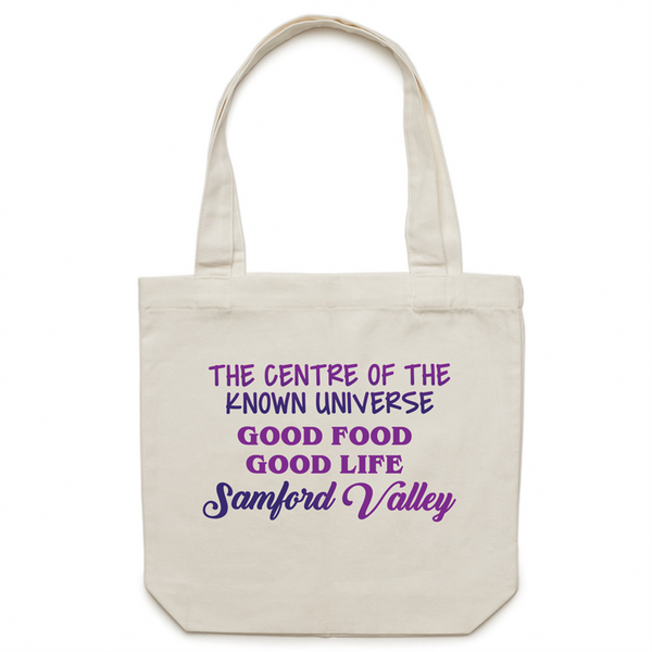 Samford Valley Centre Of The Known Universe - AS Colour - Carrie - Canvas Tote Bag