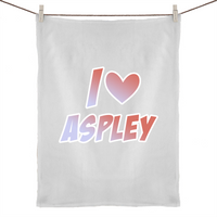 I Love Aspley - 50% Linen 50% Cotton Tea Towel