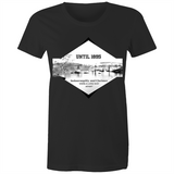 Until 1895 Indooroopilly and Chelmer were a long way apart - AS Colour Wafer - Womens Crew T-Shirt