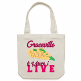 Graceville Is Where I Live - Carrie - Canvas Tote Bag