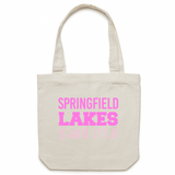 Springfield Lakes Is Where It's At - Carrie - Canvas Tote Bag