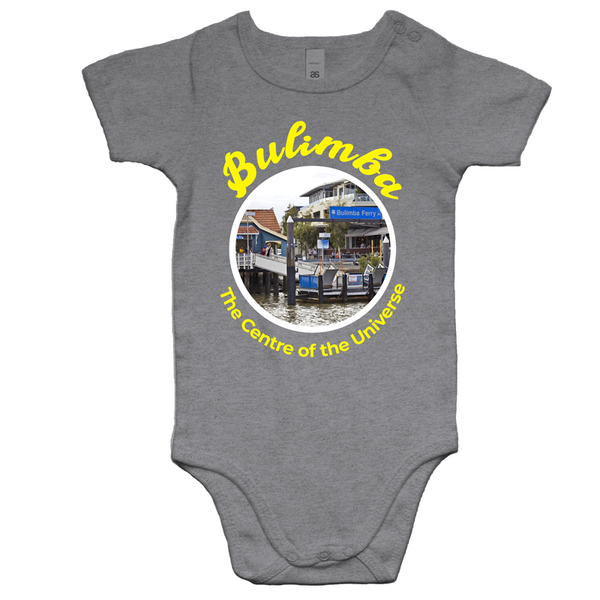 Bulimba The Centre Of The Universe - AS Colour Mini Me - Baby Onesie Romper