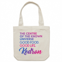 Kedron Centre Of The Known Universe - AS Colour - Carrie - Canvas Tote Bag