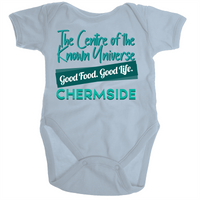 Chermside Centre Of The Known Universe - Ramo - Organic Baby Romper Onesie