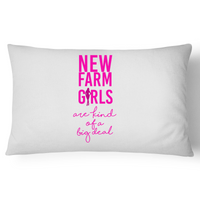 New Farm Girls Are Kind of A Big Deal  - Pillow Case - 100% Cotton