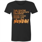 Wilston Centre Of The Known Universe - AS Colour Wafer - Womens Crew T-Shirt