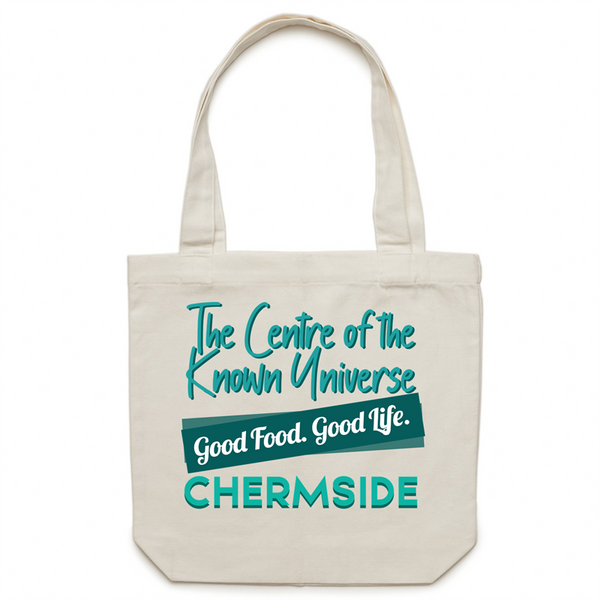 Chermside Centre Of The Known Universe - AS Colour - Carrie - Canvas Tote Bag