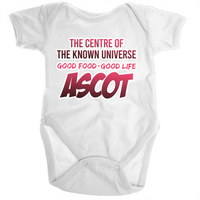 Ascot Centre Of The Known Universe - Ramo - Organic Baby Romper Onesie