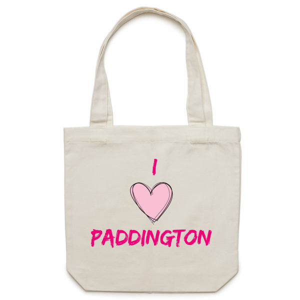 I Love Paddington - Carrie - Canvas Tote Bag