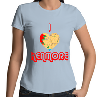 I Love Kenmore - Womens T-shirt
