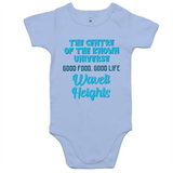 Wavell Heights Centre Of The Known Universe - AS Colour Mini Me - Baby Onesie Romper