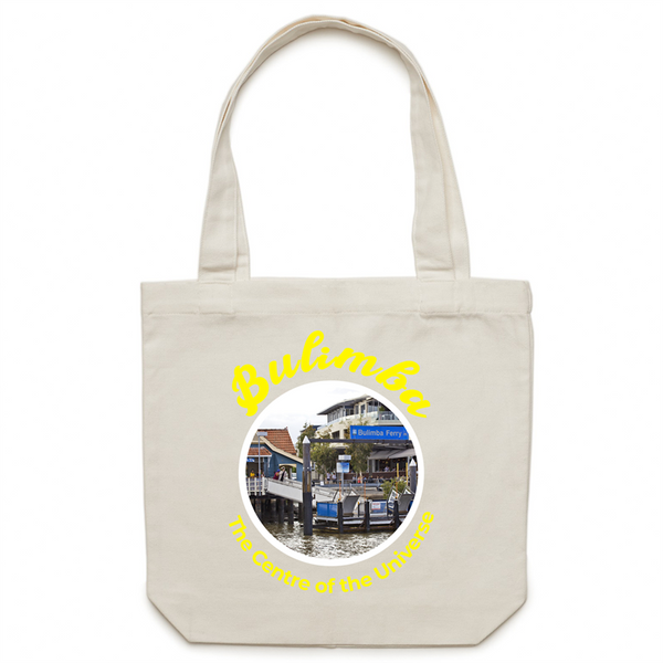 Bulimba The Centre Of The Universe - AS Colour - Carrie - Canvas Tote Bag