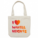 I Love Wavell Heights - AS Colour - Carrie - Canvas Tote Bag