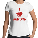 I Love Bardon - Womens T-shirt