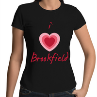 I Love Brookfield - Womens T-shirt