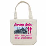 Bardon Babes Are Classy, Sassy & A Bit Smart Assy - Carrie - Canvas Tote Bag