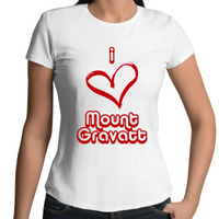 I Love Mount Gravatt - Womens T-shirt