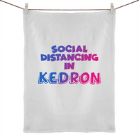 Social Distancing in Kedron - 50% Linen 50% Cotton Tea Towel