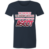 Ascot Centre Of The Known Universe - AS Colour Wafer - Womens Crew T-Shirt