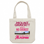 Mount Gravatt Ain't No Everest But The View Is Awesome - Carrie - Canvas Tote Bag