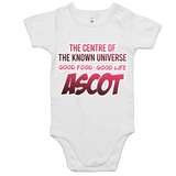 Ascot Centre Of The Known Universe - AS Colour Mini Me - Baby Onesie Romper