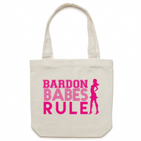 Bardon Babes Rule - Carrie - Canvas Tote Bag