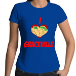 I Love Graceville - Womens T-shirt