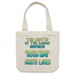 North Lakes Centre Of The Known Universe - AS Colour - Carrie - Canvas Tote Bag
