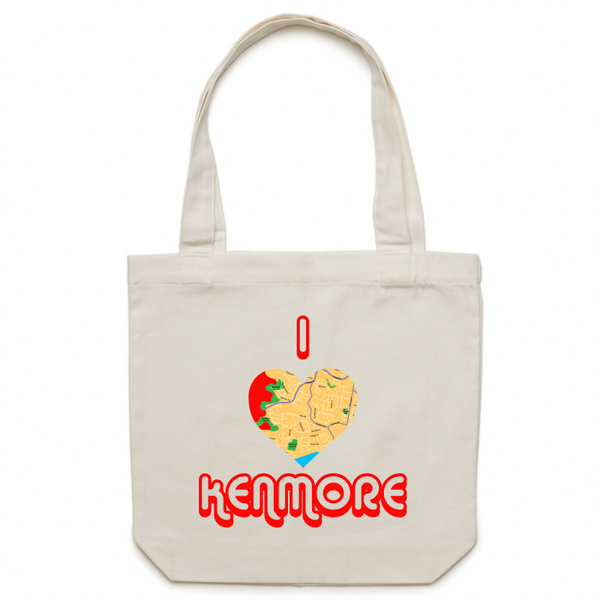 I Love Kenmore - Carrie - Canvas Tote Bag