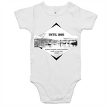 Until 1895 Indooroopilly and Chelmer were a long way apart - AS Colour Mini Me - Baby Onesie Romper