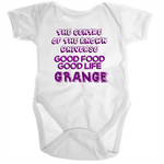 Grange Centre Of The Known Universe - Ramo - Organic Baby Romper Onesie