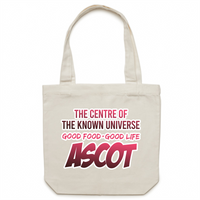 Ascot Centre Of The Known Universe - AS Colour - Carrie - Canvas Tote Bag