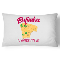 Bulimba Is Where It's At - Pillow Case - 100% Cotton