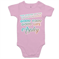 Aspley Centre Of The Known Universe - AS Colour Mini Me - Baby Onesie Romper