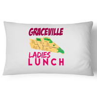 Graceville Ladies Lunch - Pillow Case - 100% Cotton