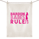 Bardon Babes Rule - 100% Linen Tea Towel