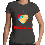 I Love West End - Womens T-shirt