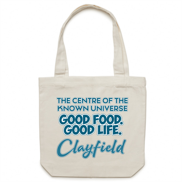 Clayfield Centre Of The Known Universe - AS Colour - Carrie - Canvas Tote Bag