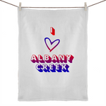 I Love Albany Creek - 50% Linen 50% Cotton Tea Towel