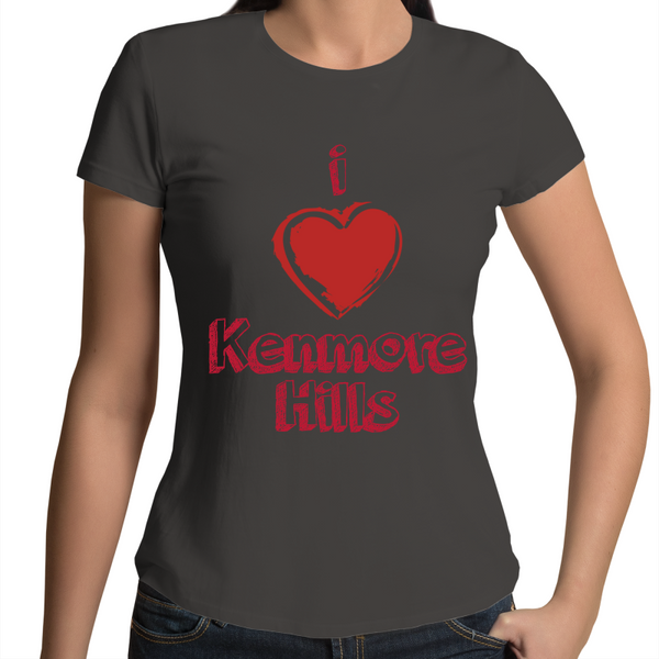 I Love Kenmore Hills - Womens T-shirt