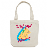 West End Forever - Carrie - Canvas Tote Bag