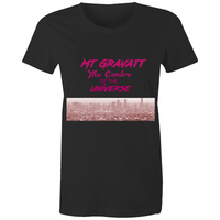 Mt Gravatt Centre Of the Universe - AS Colour Wafer - Womens Crew T-Shirt