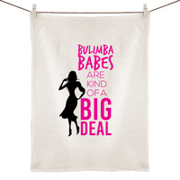 Bulimba Babes Are Kind Of A Big Deal - 100% Linen Tea Towel